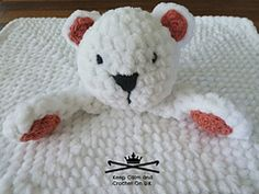 Ravelry: Nanuk the Polar Bear Lovey pattern by Heather C Gibbs 2,50