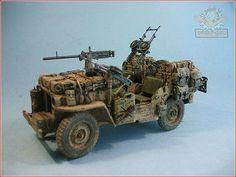 """Yoryi (puntocom) - Modelismo y Maquetas - Jeep SAS """"Heavy"""", (2º) - Proyectos terminados"""