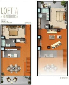 Spa Lofts Loft A Las Vegas Real Estate By Jacqulyn Richey With House Plan Ideas … - Dachboden House Plan With Loft, Loft House, Small House Plans, Tiny House, Loft Floor Plans, House Floor Plans, Sims House Plans, Apartment Plans, Loft Design