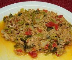 12 Recetas mexicanas para saborear los chiles poblanos: Ropa vieja