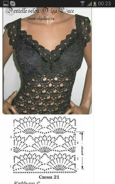 Delicadezas      ♪ ♪ ... #inspiration #crochet  #knit #diy GB  http://www.pinterest.com/gigibrazil/boards/