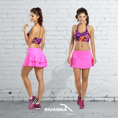 O treino desta sexta-feira merece um look lindo Rivanna Fitness!