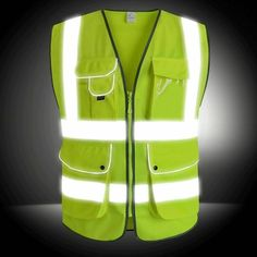 Security & Protection Workplace Safety Supplies Disciplined Spardwear Reflective Safety Vest With Mesh Fabric Security Vest Safety Gilet With Pockets Free Shipping Low Price