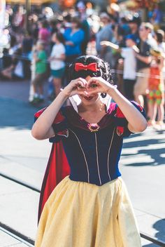 """livingwithamouse: """" Love you, Snow on Flickr. """" Snow White Disney Parks"""