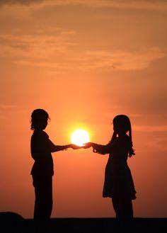 """Playing With Sun..."" by Raghavendra Joshi, via 500px."