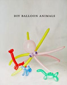Enredándome VIII: Un globo, dos globos, tres globos...