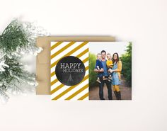 Gorgeous Christmas card idea! Love this shop! Great prices too!