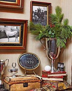 An Equestrian Christmas - Ideas for Stylish Equestrian Christmas Decor - Hawk Hill Equestrian Bedroom, Equestrian Decor, Equestrian Outfits, Equestrian Style, Christmas Tree Cookies, Christmas Decorations, Christmas Ideas, New England Farmhouse, Christmas Characters