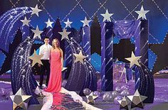 Bring some classic elegance to your prom with a star themed event. Stumps Prom has plenty of beautiful star themed decorations for your starry night. Our Wishing on a Shooting Star themed prom is a… Dance Themes, Prom Themes, Star Decorations, Balloon Decorations, Christmas Decorations, Night To Shine, Starry Wedding, Prom Decor, Costumes