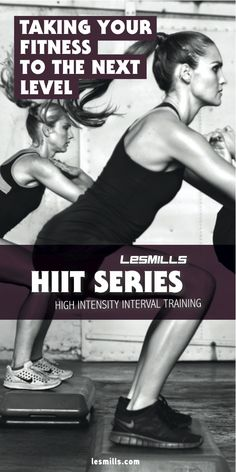 Les Mills HIIT...waiting for this to come to Cottesloe