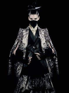 """Honor"" | Model: Meghan Collison, Photographer: Fabien Baron, Interview Magazine, October/November 2012"