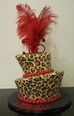 leopard print cake toronto by www.fortheloveofcake.ca, via Flickr