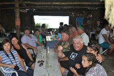 """Another important item on Dibiki's Holiday Programme was the stunning seafood dinner at """"De Vette Mossel"""" Holiday Program, Seafood Dinner, Holiday Activities"""