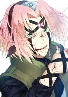 Sakura kicks your ass, haters ♥ Anime Naruto, Naruto Uzumaki, Naruto Girls, Naruto Sasuke Sakura, Hinata, Gaara, Naruhina, Kakashi, Wallpapers Naruto