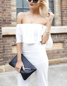 The Hottest Top of the Summer Might Just Be This Cold-Shoulder Style from #InStyle