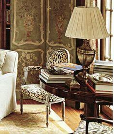Amelia T. Handegan. Leopard velvet.