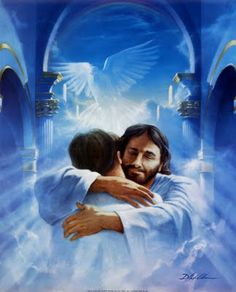 How wonderful it would feel to have a hug from Jesus.