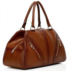 Anna Brown Italian Leather Tote Handbag from Vicenzo Leather delivers simple sophistication and a stylish look. In the Apparel, Accessories, Women of lifeenjoyablesolutions.com/catalog