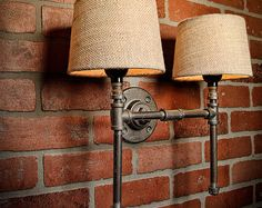 A handmade industrial chic three light fixture that is sure to add a truly charming accent to any home. This unique and re-imagined blend of metal pipe fittings and mason jars create a unique light that will surely add a warm and welcome atmosphere to your home or business. Features a quart size Ball mason jar. This is sure to become the topic of conversation among guests, friends, family or clients.  All TMG-DZN fixtures will accept most Incandescent, CFL or LED bulbs. Light socket rated…
