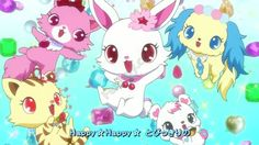 Jewelpet, Sanrio's attempt to make another hello Kitty Sanrio Characters, Anime Characters, Fictional Characters, Chibi Anime, Cute Anime Character, Animation, Pikachu, Hello Kitty, Minnie Mouse