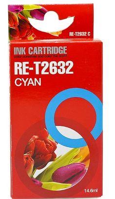 Epson 26 cyaan Inktjet cartridge www.ovstore.nl/nl/huismerk-epson-26-cyaan-inktjet-cartridge.html