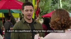 "The CW's ""Crazy Ex-Girlfriend"" Albino Broccoli Quote Crazy Ex Gf, Ex Girlfriend Quotes, Rodgers And Hammerstein's Cinderella, Everybody Love Raymond, Crazy Ex Girlfriends, Freaks And Geeks, West Covina, Comedy Series, Friends Show"