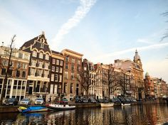Amsterdam Canals #Amsterdam #Netherlands #Tourism