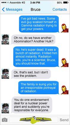 Poor Bruce.