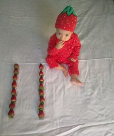 11 Month Old Strawberry Elf On The Shelf, Strawberry, Holiday Decor, Home Decor, Decoration Home, Room Decor, Strawberry Fruit, Home Interior Design, Strawberries