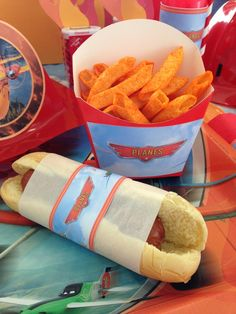 Disney Planes Birthday Party food!  See more party ideas at CatchMyParty.com!