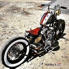 """469 curtidas, 1 comentários - Haywire (@my14rk) no Instagram: """"Bobber #motorcycles"""""""