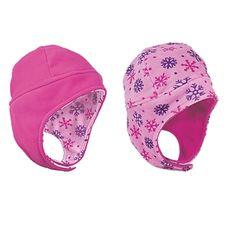 Baby & Kids' Reversible Fleece Winter Hat - One Step Ahead Baby