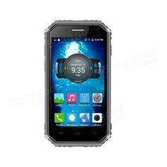 Ken Xin Da PROOFINGS W6 IP68 4.5 Inch 4G LTE 2600mAh 5MP Android 6.0 Waterproof Dustproof Smartphone Sale - Banggood.com
