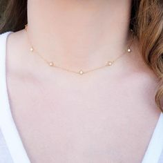 Emerald Necklace / Emerald Necklace Gold / Diamond Bar Necklace with Baguette Emerald in Gold / Natural Emerald Necklace/ May Birthstone - Fine Jewelry Ideas Diamond Choker, Diamond Solitaire Necklace, Gold Choker, Diamond Pendant Necklace, Diamond Heart, Dainty Gold Necklace, Gold Necklaces, Diamond Necklaces, Delicate Jewelry