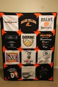Custom T-Shirt Blanket By Designs By Addie Lee