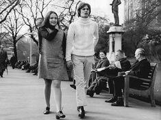 "ludmilachaibemachado:  ""Olivia Hussey and Leonard Whiting, March 1968. Instagram romeoandjuliet50th  """