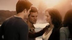 Renesmee fully grown with her parents, Edward and Bella and Jacob.