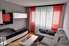 Paneles japoneses bordados combinados con paños a rayas Divider, Room, Furniture, Home Decor, Needlepoint, Home, Bedroom, Decoration Home, Room Decor