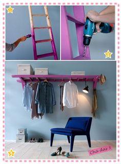 Escada Rosa - Cozinha DiY - Criatividade Sustentável