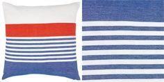 Lake Stripe Pillow