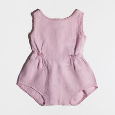 LILAC LINEN JUMPSUIT - COLLECTION - New Born | Zara Home United Kingdom