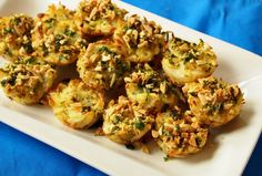 This cauliflower kugel bites recipe from JOY of KOSHER serves three per person, but they're low-cal so don't worry about eating more. Get the recipe! Passover Recipes, Jewish Recipes, Passover Menu, Passover Desserts, Passover 2017, Lithuanian Recipes, Israeli Recipes, Kosher Recipes, Cooking Recipes
