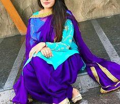 Punjabi Fashion, Bollywood Fashion, Indian Fashion, Punjabi Girls, Punjabi Dress, Punjabi Suits Party Wear, Patiyala Suit, Patiala Salwar Suits, Boutique Suits