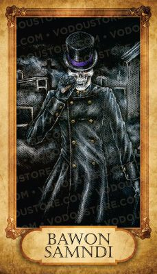 Prayer Card - Bawon Samndi (Baron Samedi) (B)