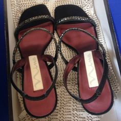 Nina sandals Almost new beautiful sandals ideal for special occasions Nina Shoes Sandals