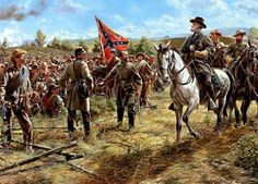 General Gordan at the Sunken Road,  Antietam