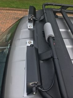 A plan view of the lights in their spread wide angle configuration! The aluminium mountings will be sprayed black in time. Jimny Suzuki, Grand Vitara, Aftermarket Parts, Wide Angle, Offroad, Samurai, Jeep, Engineering, Lights