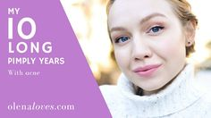 I grew up with terrible acne, and I discuss all the mistakes I made that contributed to it. Read this article to make sure you aren't making the same mistakes as I did! #cleanfreakformula #adultacne