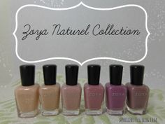 @Zoya Nail Polish Natural Collection Swatches #ZoyaNailPolish via @MyHighestSelfBlog.com