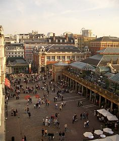 Covent Garden--God I miss London!